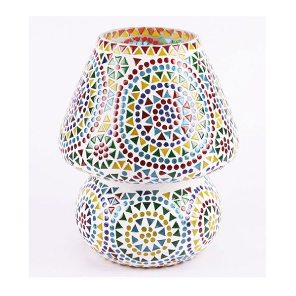 Mosaic colourful traditional Table Lamp