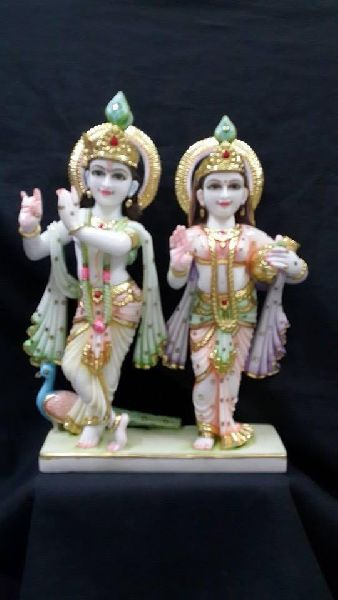 Radha Krishna Idol Marble Statues Murti Manufacturer In