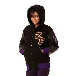 Hooded Letterman Varsity Jackets