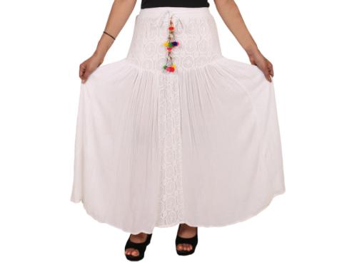 Tassel Decorated Long Skirt