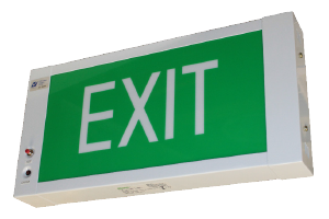 LED Slim Box Emergency Exit Sign