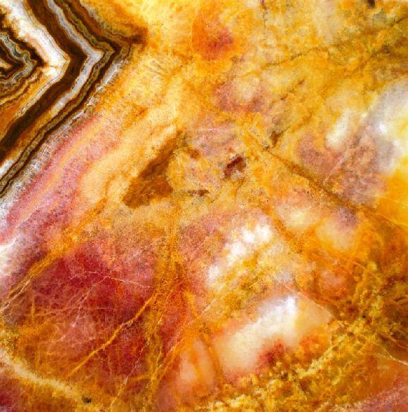 Multi yellow Onyx Marble