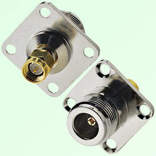 N(F)-SMA(M) 4 Hole Adaptor (NA)