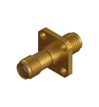 SMA(F)- SMA(F) 4 Hole Adaptor (NA)