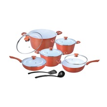 Ceramic Coated Taper Cookware Set