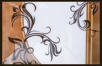 Back Painted Glass