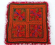 Vintage Blouse Neck yoke_Indian handmade Banjara patch