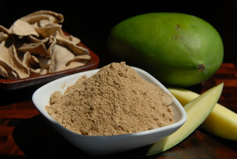 Raw Mango Powder Manufacturer in Ajmer Rajasthan India by Navlax Spices |  ID - 4808418