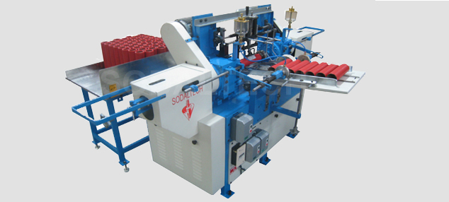 automatic paper tube finishing machine