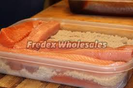 Frozen Dry Salmon Fish