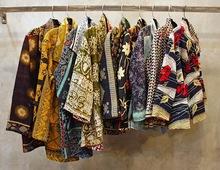 Vintage Cotton Kantha Jacket Reversible