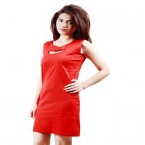 RED COLOR VALENTINE SPECIAL WOMEN'S CEREMONIAL DESIGNER DRESSES