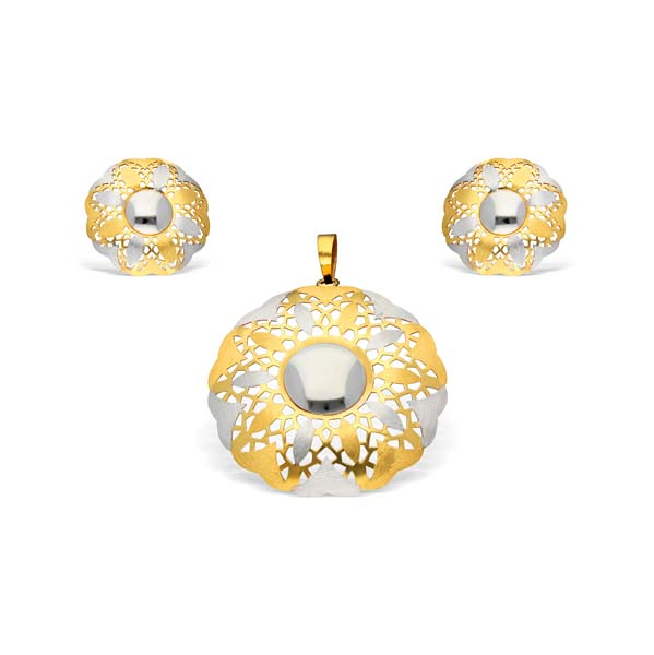 Italian Gold Pendant Set (IPS01)