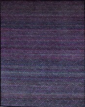Hand Knotted Wool and Sari Silk