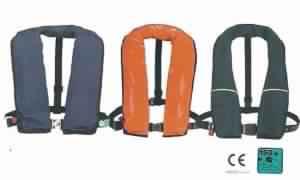 Inflatable life-jacket