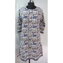 Hand Block Printed Cotton Long Tunic