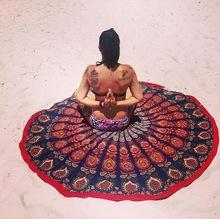 Yoga Mat beach Throw