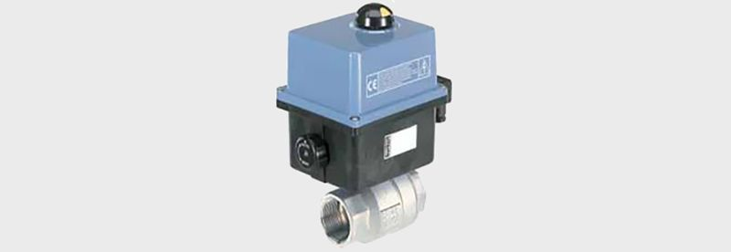 Ball Valve with Electric Rotary Actuator