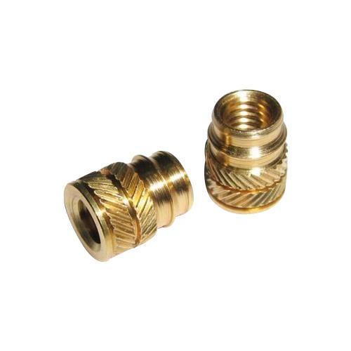 Brass Threaded Insert Manufacturer in Jamnagar Gujarat India