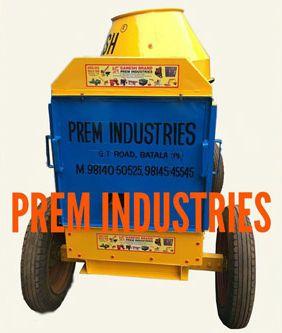 Cast Iron Concrete Mixer
