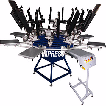 screen printing machine.