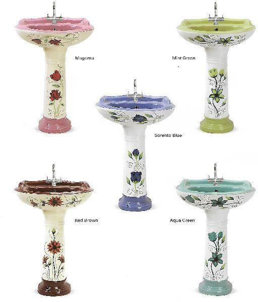 Royal Set Pedestal Wash Basin