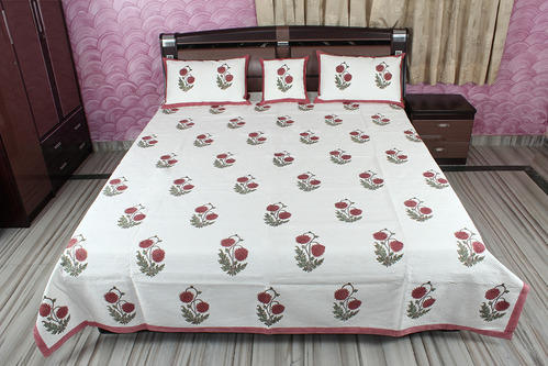 Hand Block Printed Bed Sheets