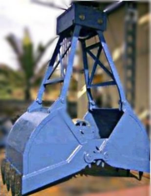 Clamshell Grab Bucket