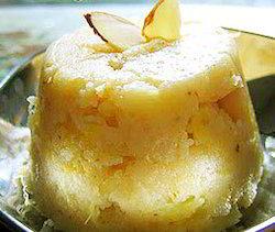 Pineapple Milk Halwa