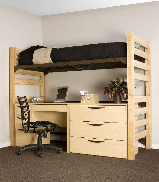 Wooden Loft Bed With Desk Buy Wooden Loft Bed In Delhi Delhi India From Excelsior Furniture Co