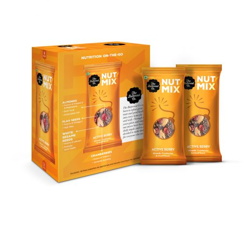 Active Berry Flavoured Mixed Nuts