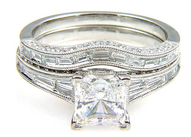 .91Ct Diamond & 18KT White Gold Semi Mount Ring (CL2895)