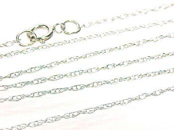 14KT White Gold Chain Necklace (CL41)