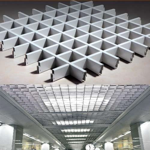Galvanized Open Cell Ceiling Tiles