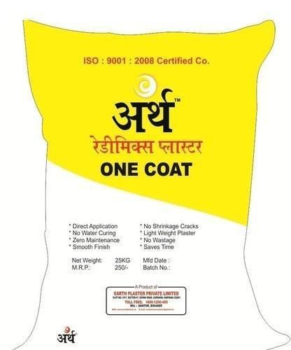 One coat Gypsum Plaster