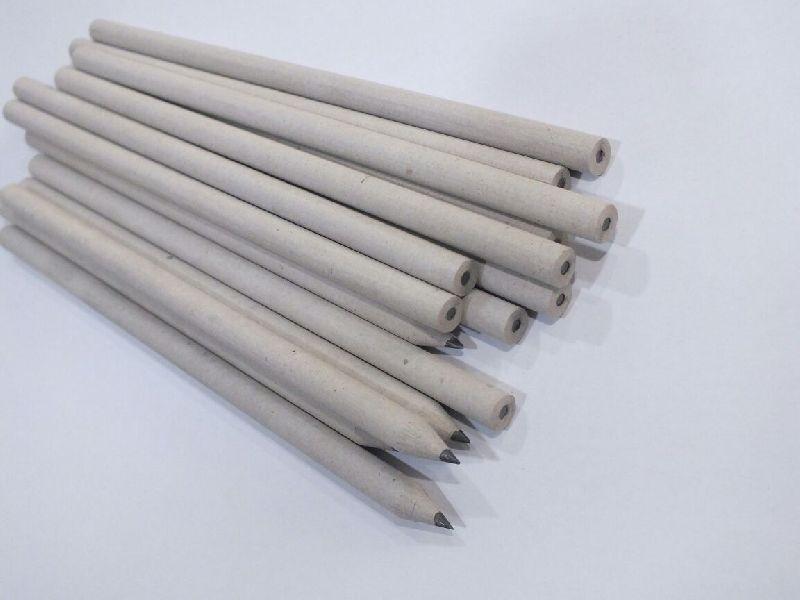 Plain White Paper Pencil