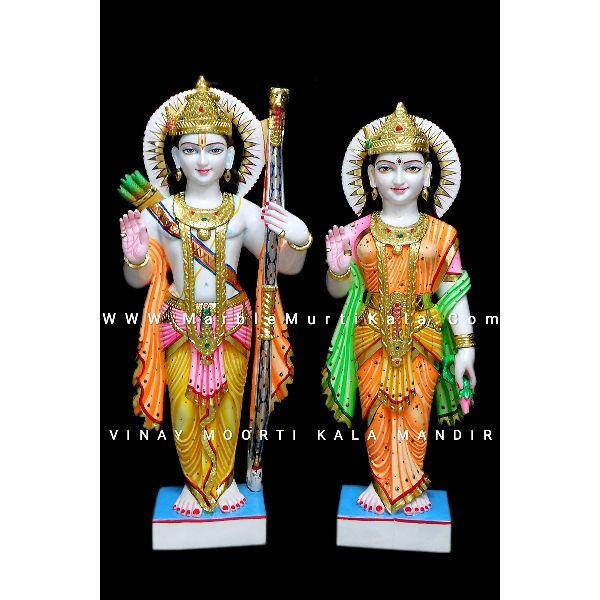 Ram Sita Marble Statue Manufacturer In Jaipur Rajasthan