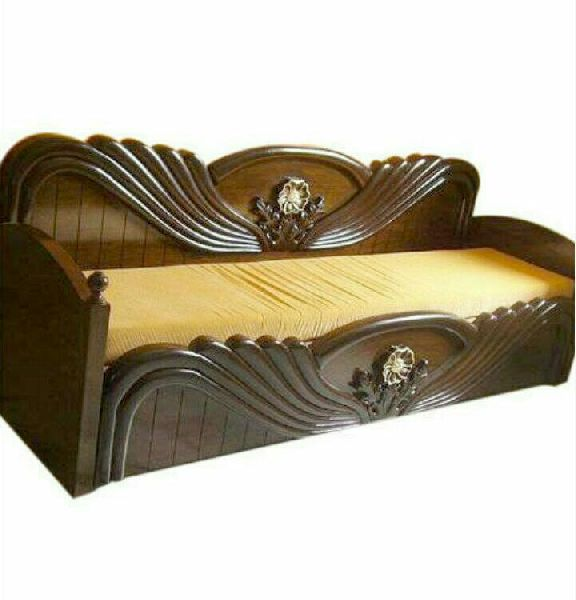 Incredible Wooden Sofa Bed Manufacturer In Asansol West Bengal India By Machost Co Dining Chair Design Ideas Machostcouk