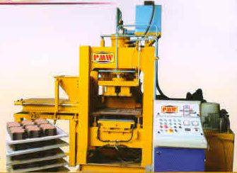 Fully Automatic Fly Ash Brick & Paver Block Making Machine (PMW-002)