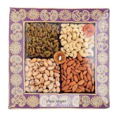 Premium Treats Velvet Dry Fruits Gift Pack