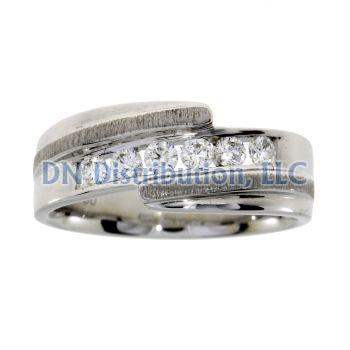 .40 Ct Diamond & 18KT White Gold Mens Ring (CL1239)
