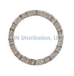 87 Ct Diamond & 18KT White Gold Ring (CL1199)