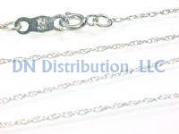 10KT White Gold Chain Necklace (CL29)