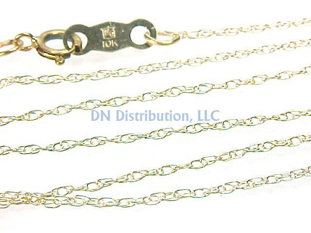 10KT Yellow Gold Chain Necklace (CL29)
