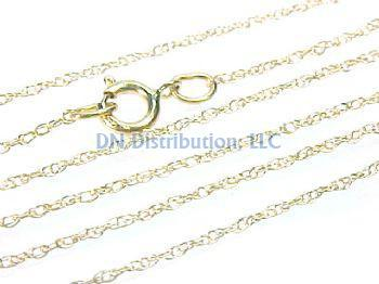 14KT Yellow Gold Chain Necklace (CL41)