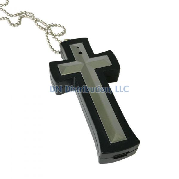 8gb Spy Cross DVR Necklace (DVRCS)