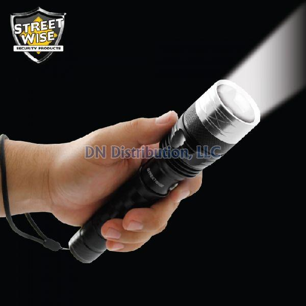 Streetwise LED Flashlight w/Self-Defense Spikes