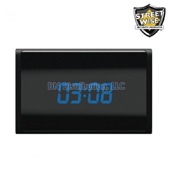 Streetwise WiFi HD Table Clock DVR (SWWFCDVR)