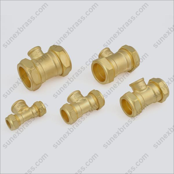 Brass Gas Meter Coupling