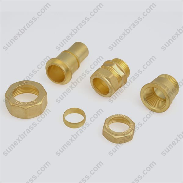 Brass Gas Meter Parts